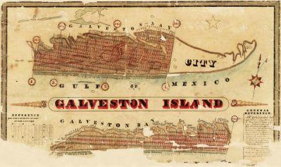 R. C. Trimble Galveston Island, 1837