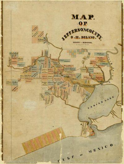 O.H. Delano Jefferson County, 1840