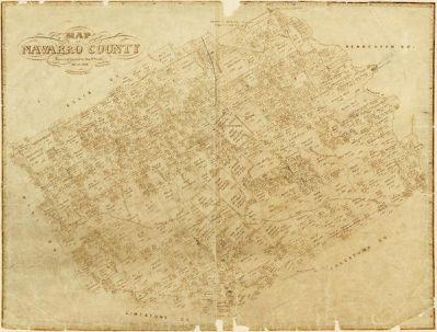 Charles W. Pressler Navarro County, 1872