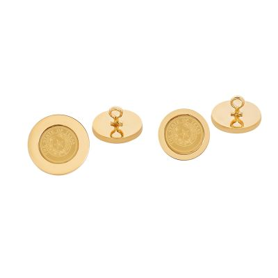 State Seal Gold Plated Blazer Button Set