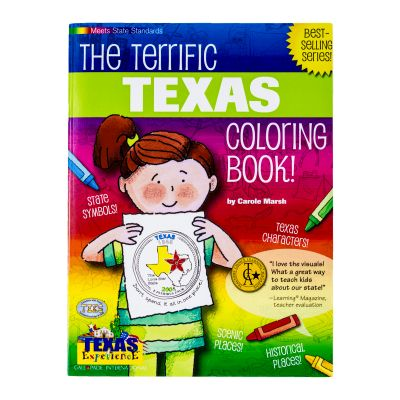 The Terrific Texas Coloring Book