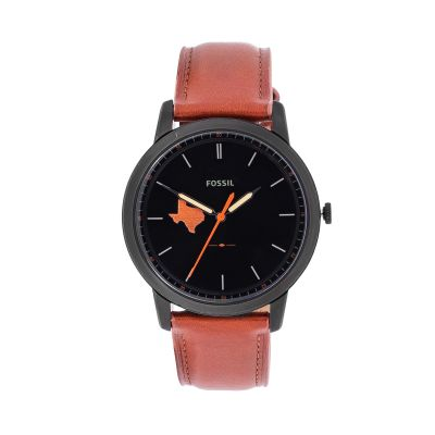 Fossil Texas Black Watch