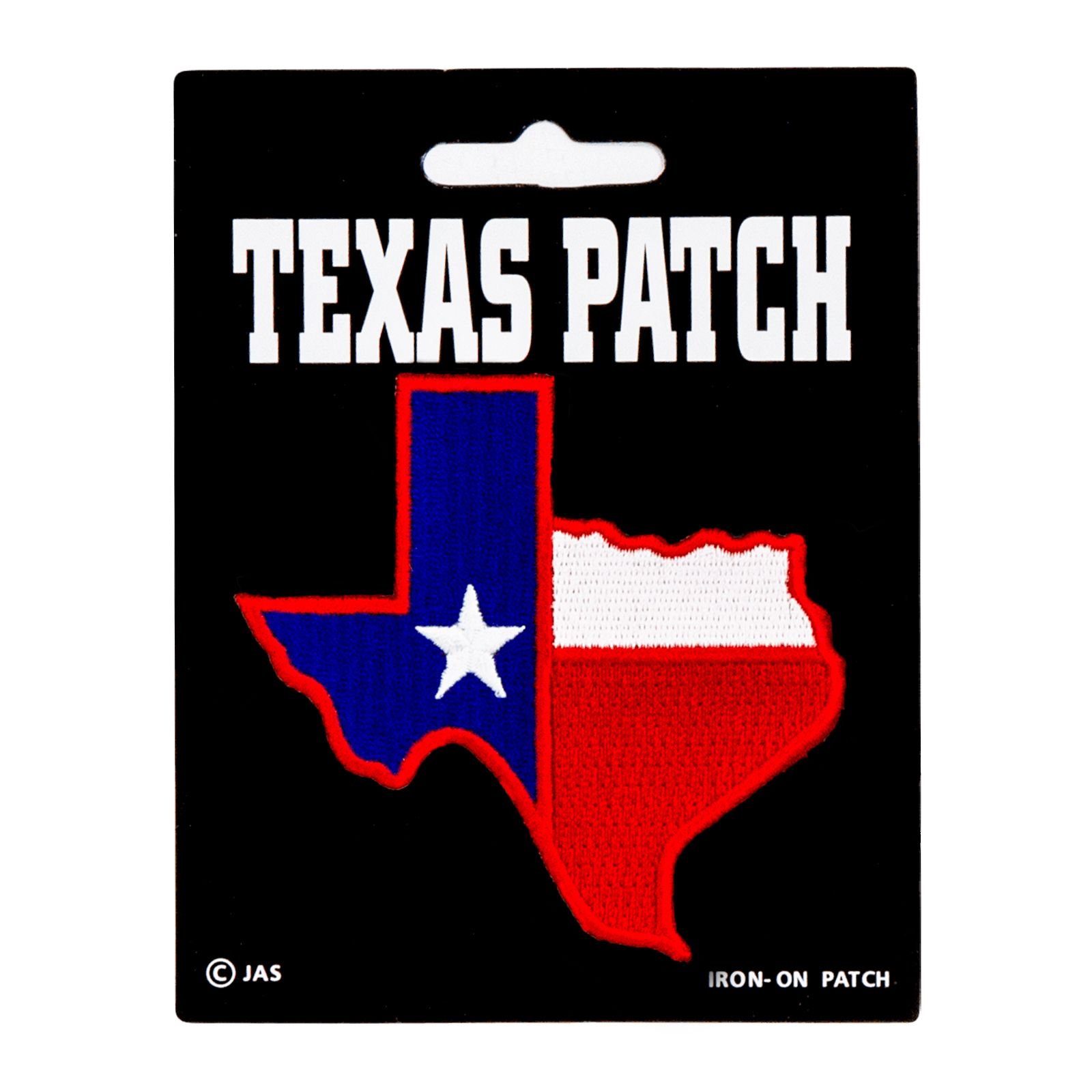 Texas Shaped State Flag Patch