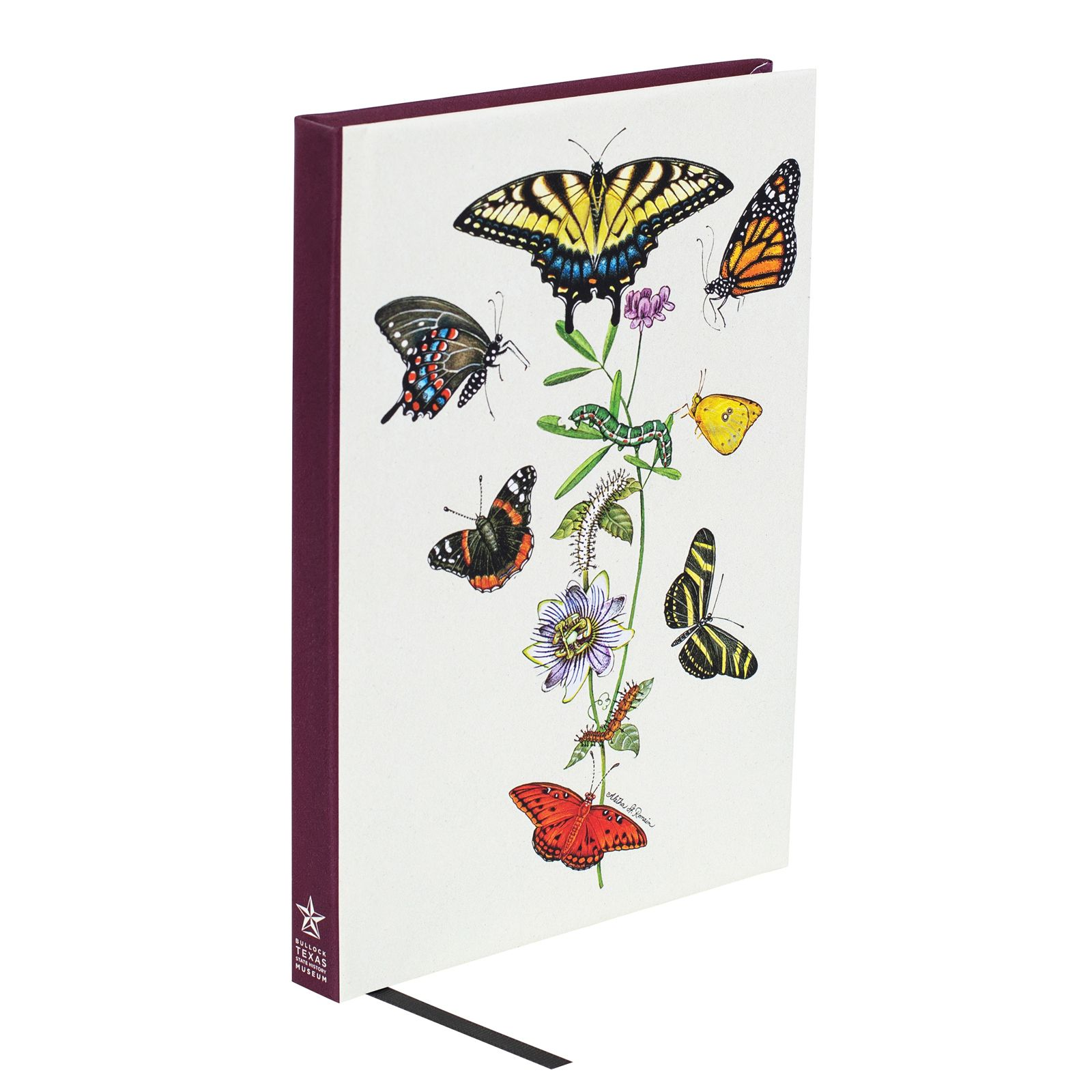 Aletha St. Romain Butterflies of Texas Lined Notebook