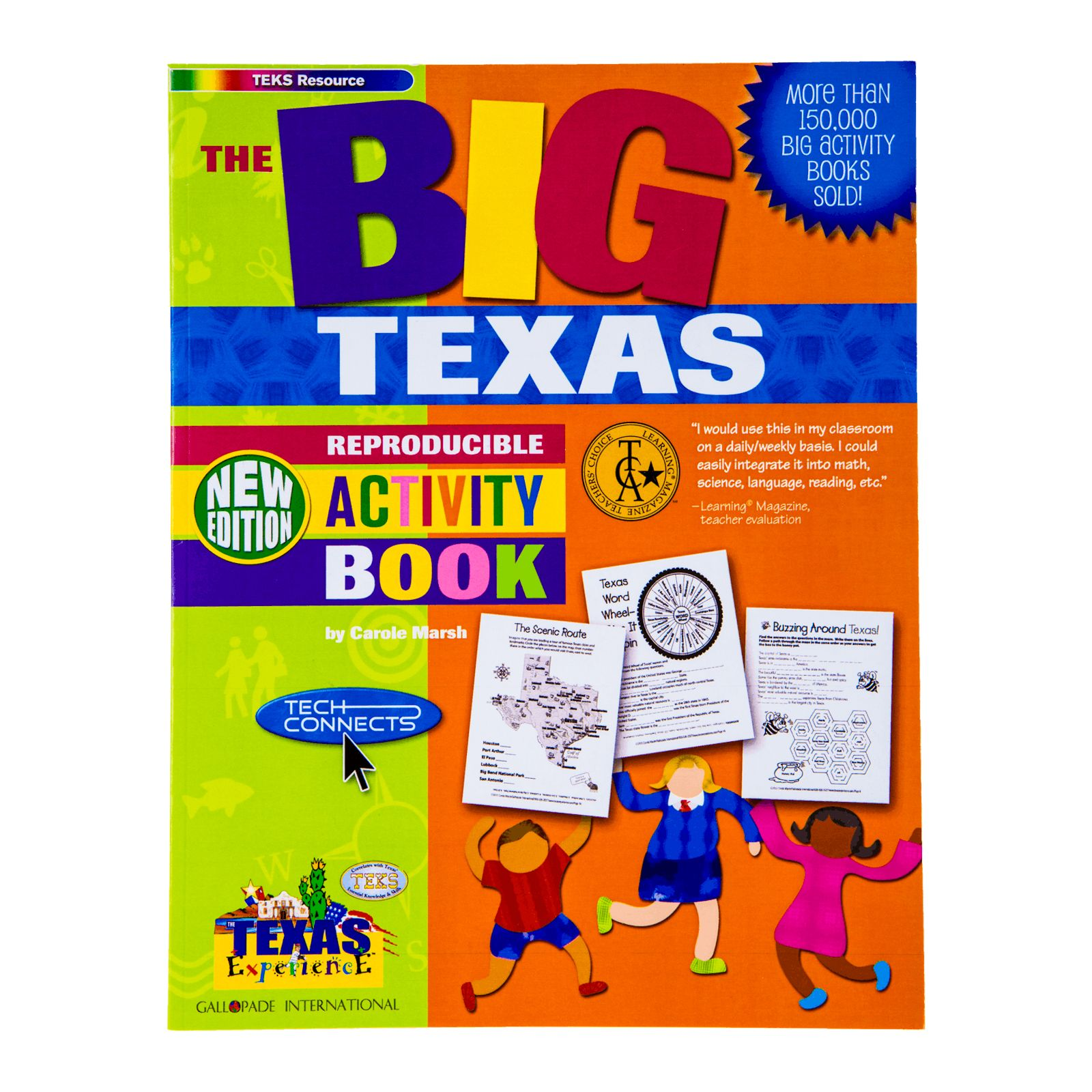 Big Texas Activity Book