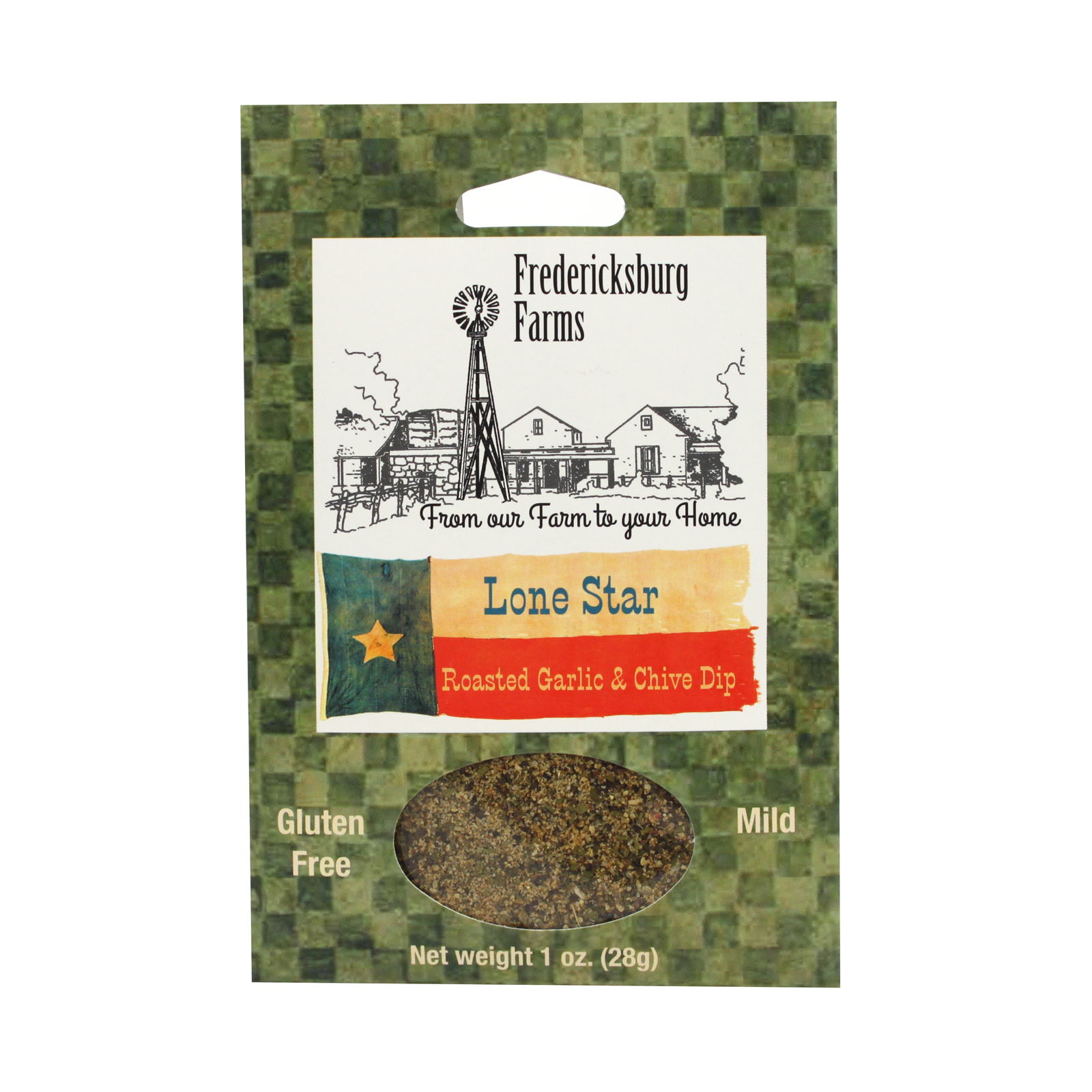 Fredericksburg Farms Lone Star Roasted Garlic and Chive Dip