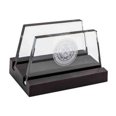 State Seal Business Card Holder