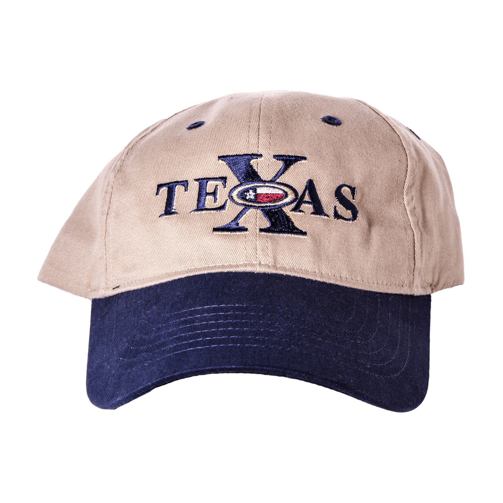Big X in Texas Hat