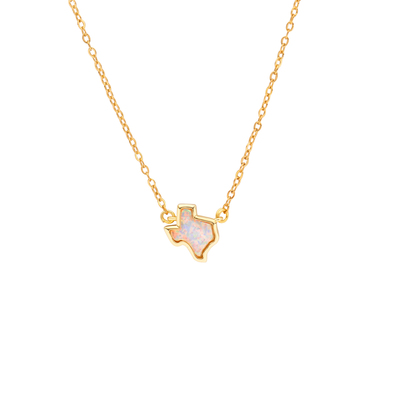 Texas Opal Necklace