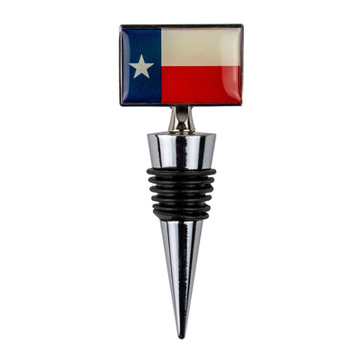 Texas Flag Bottle Stopper