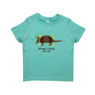 Anything Is Possible Magic Armadillo Toddler T-Shirt