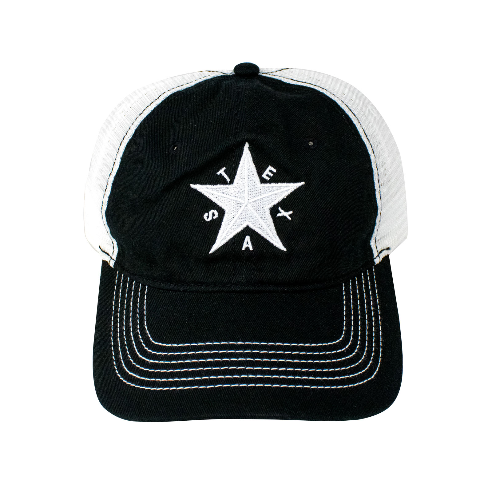 First Flag of the Republic of Texas Black Baseball Hat