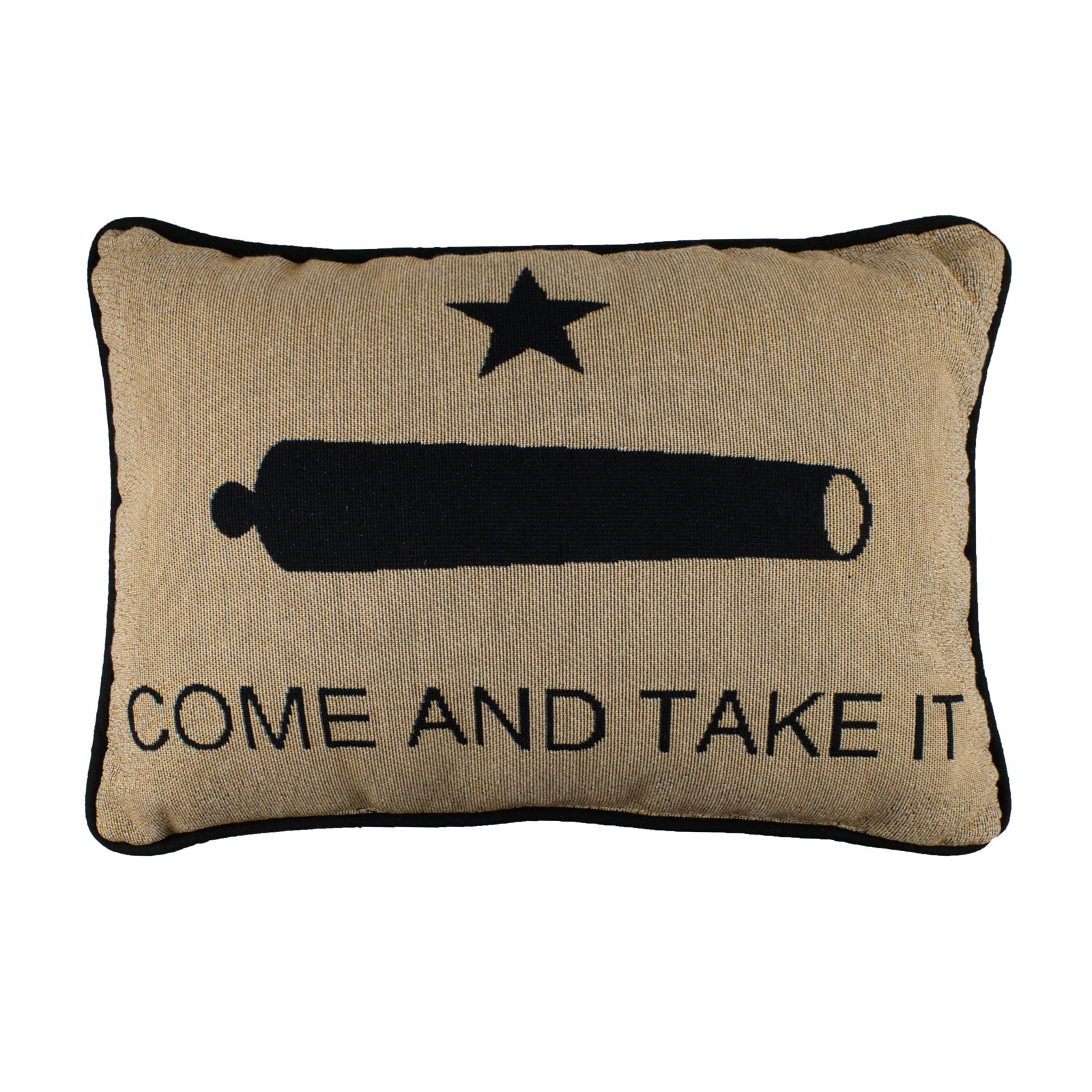 Gonzales Flag Accent Pillow