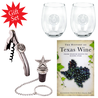 Texas Wine Gift Set