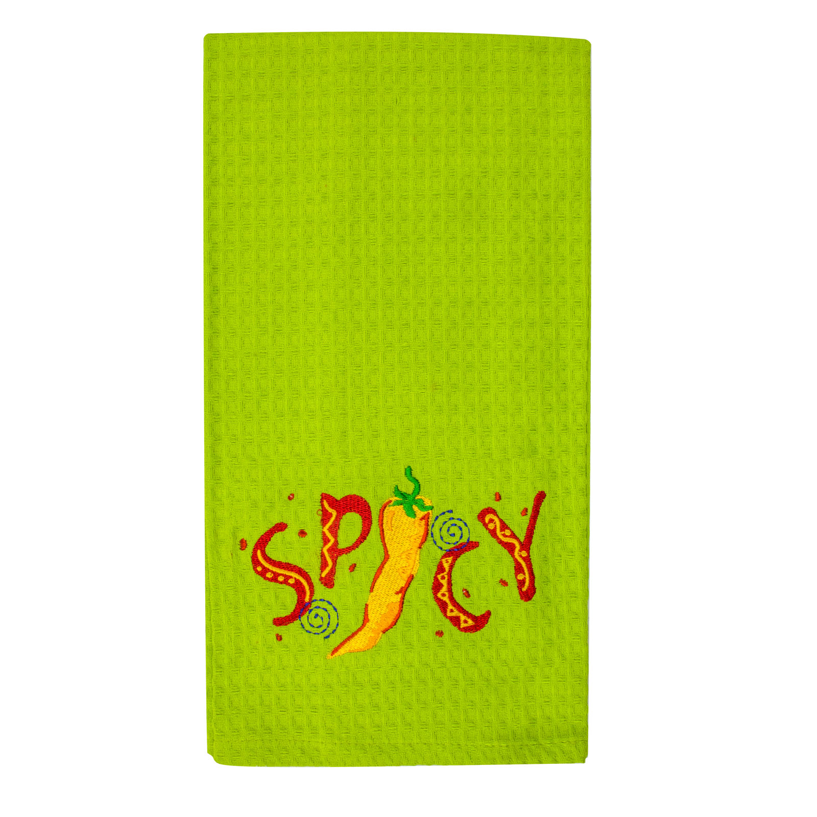 Spicy Waffle Kitchen Towel