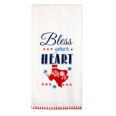 Bless Your Heart Flour Sack Tea Towel