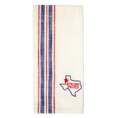 Texas Pride Cotton Tea Towel