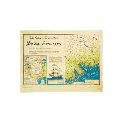 LaSalle Shipwreck Map 1685 Print