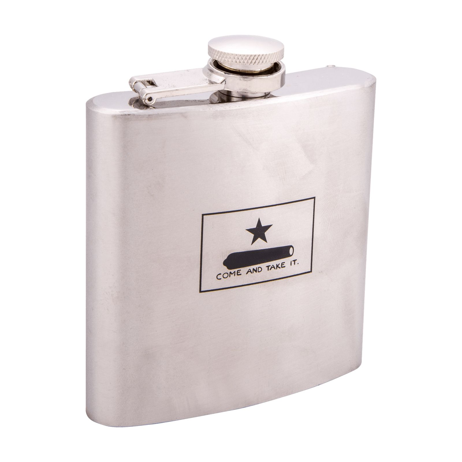 Gonzales Flag Flask