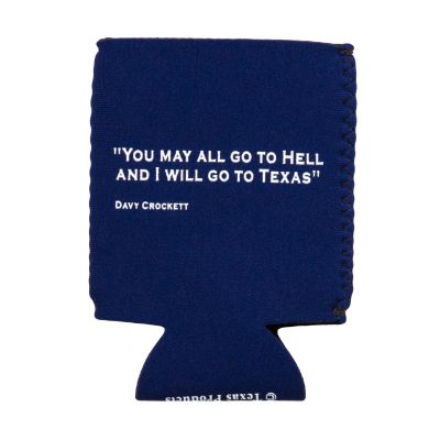 Davy Crockett Quote Koozie