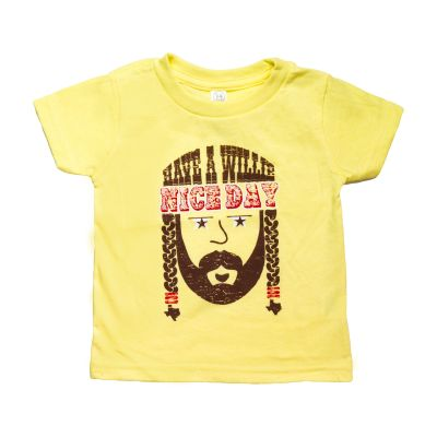 Have a Willie Nice Day Yellow Toddler T-Shirt