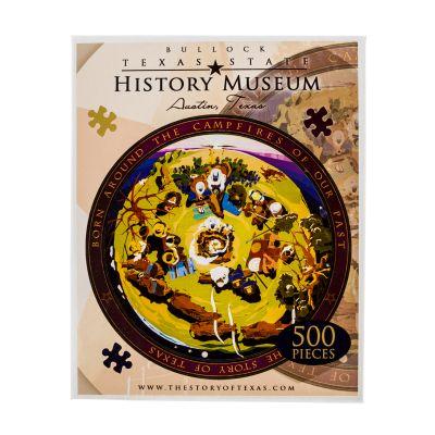Bullock Museum Terrazzo Floor 500 Piece Jigsaw Puzzle