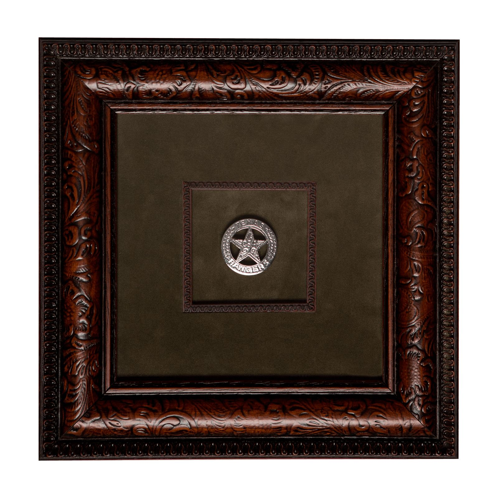 Framed Replica Ranger Badge