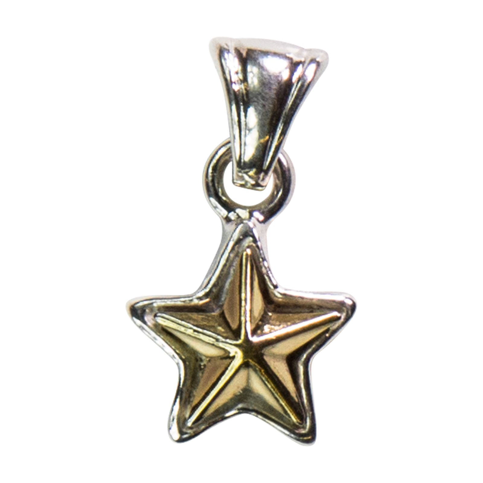 Texas Star Sterling Silver Pendant