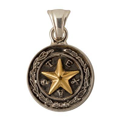 Capitol Chandelier Motif Sterling Silver Pendant
