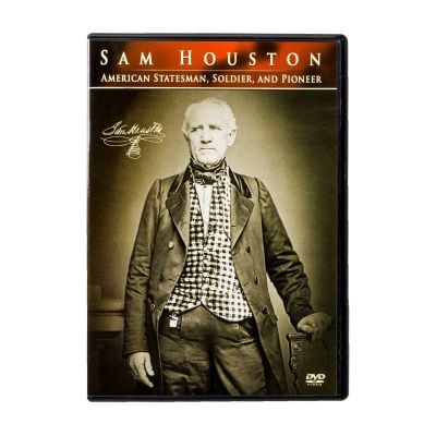 Sam Houston: American Statesman, Soldier, and Pioneer Documentary DVD