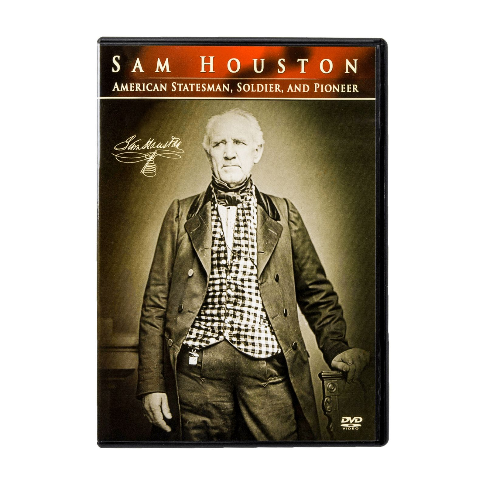 Sam Houston: American Statesman, Soldier, and Pioneer Documentary DVD