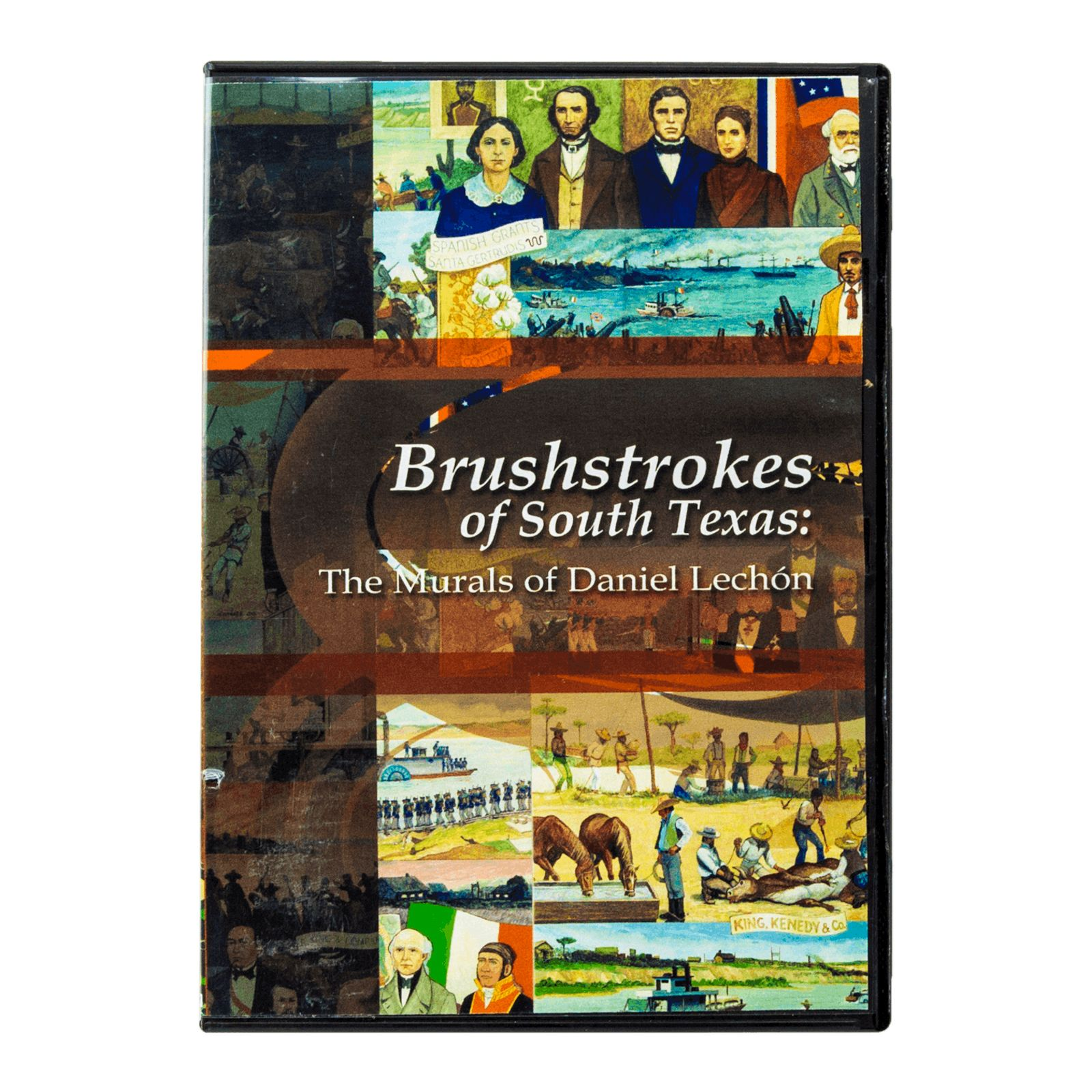 Brushstrokes of South Texas: The Murals of Daniel Lechon Documentary DVD