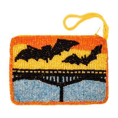 Beaded Bat Purse