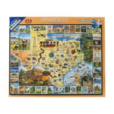 Best of Texas 1000 Piece Jigsaw Puzzle
