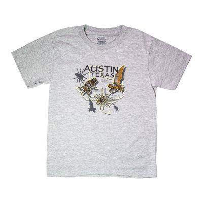 Texas Critters Kids T-Shirt