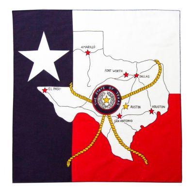 Texas Map Bandana