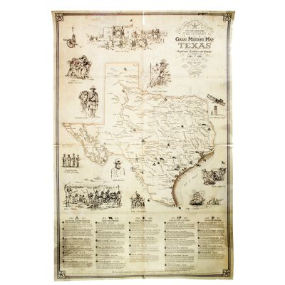 Great Military Map of Texas