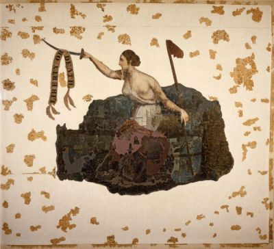 James Henry Beard San Jacinto Battle Flag, 1836