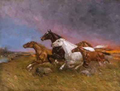 Gean Smith Wild Fire, 1915