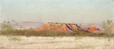 Frank Reaugh Red Mesa, c. 1915
