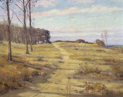 Hale Bolton Texas Landscape, 1917