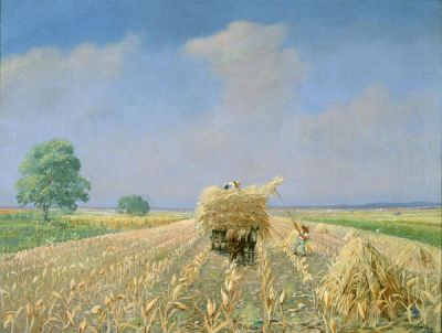 Franz Strahalm Corn Field, c. 1920
