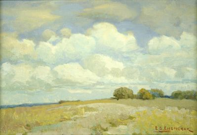 Edward Gustav Eisenlohr Summer Field, Oak Cliff, 1920