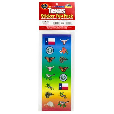 Texas Sticker Fun Pack