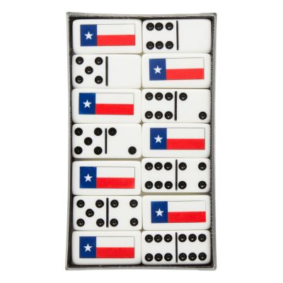 Texas Flag Dominos