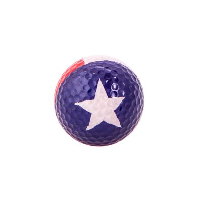 Texas State Flag Golf Ball