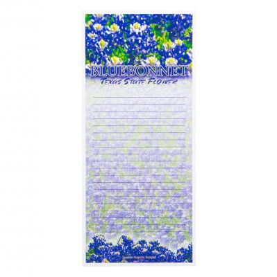 Bluebonnet Magnetic Notepad