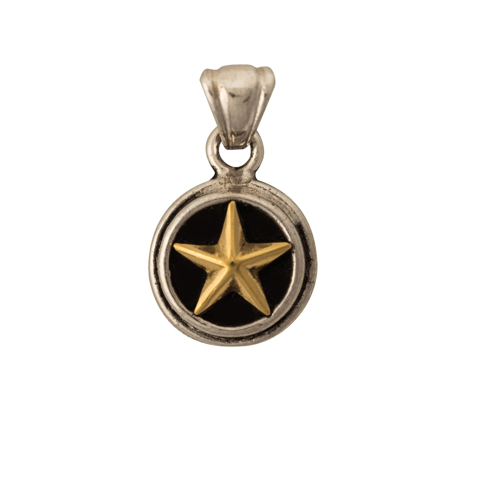 Lone Star Sterling Silver Small Pendant