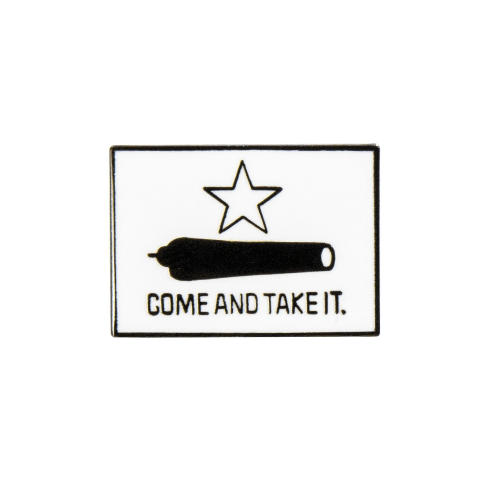 Gonzales Flag lapel Pin