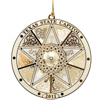2011 Texas Capitol Ornament